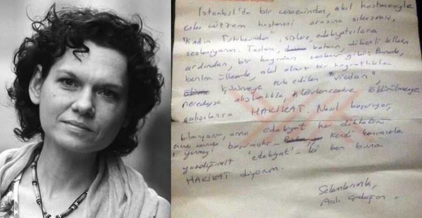 Frankfurt Kitap Fuarı'nda, Aslı Erdoğan'ın mektubu okundu