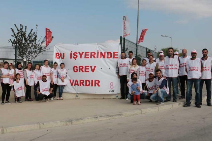 Ferrero Çikolata Fabrikasında işçiler 10 gündür grevde