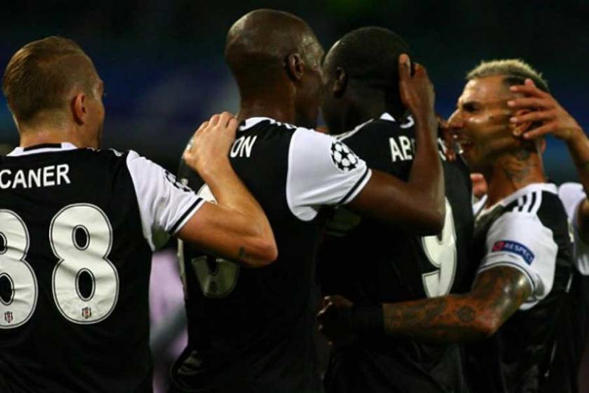Beşiktaş, Şampiyonlar Ligi maçında Napoli'yi 3-2 yendi