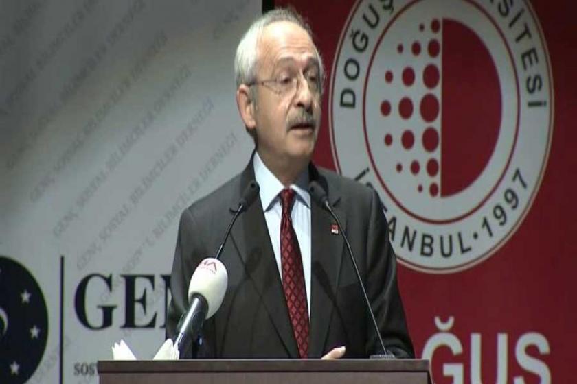 Kılıçdaroğlu: Bir kişi milli iradeyi temsil edemez