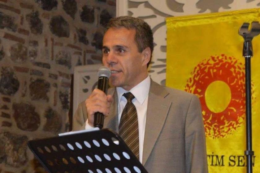 Eğitim Sen Manisa Şube Başkanı Metin Demirel açığa alındı