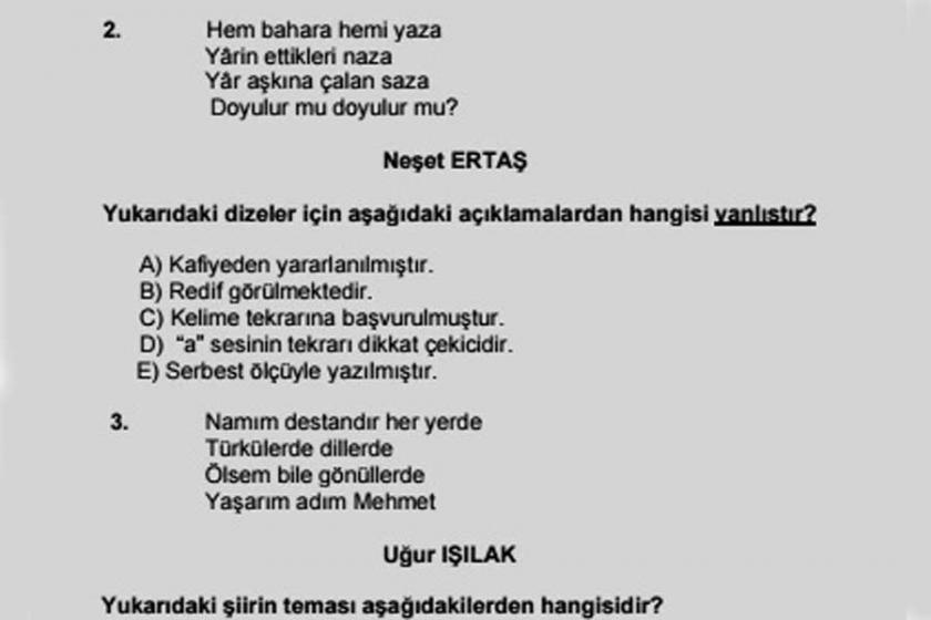 AKP'li Uğur Işılak, Neşet Ertaş'la birlikte ders kitabında