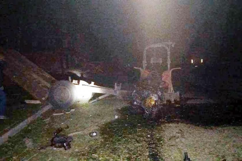 Bingöl'de zırhlı polis aracına saldırı