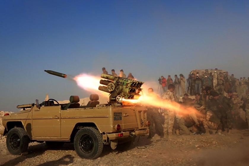 IŞİD'in kontrolündeki Başika'ya operasyon