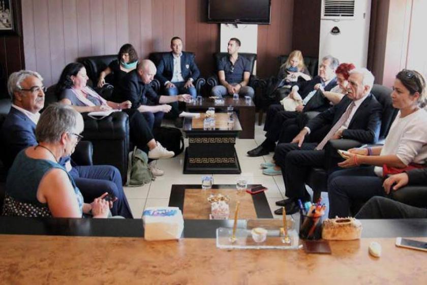 Avrupa Parlamentosu heyeti Ahmet Türk'ü ziyaret etti