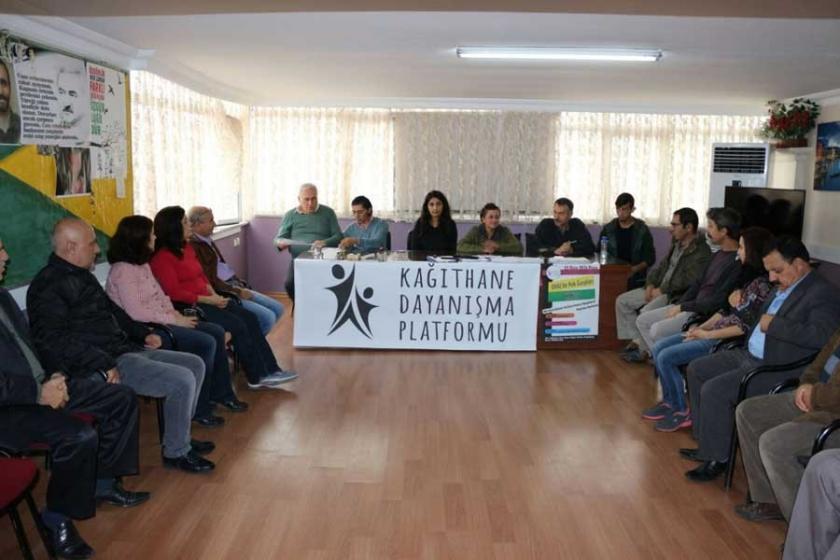 Kağıthane Dayanışma Platformu: OHAL rejimine son verilsin