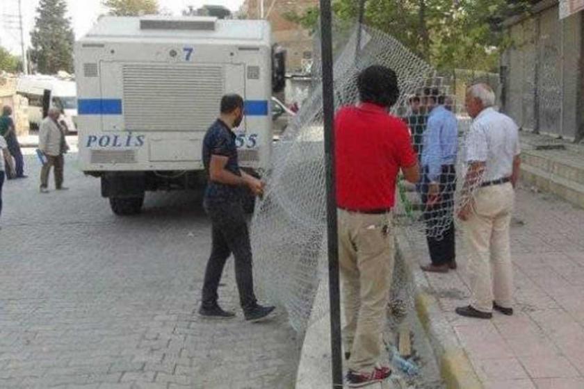 Nusaybin'de tel örgülerin bir kısmi kaldırıldı