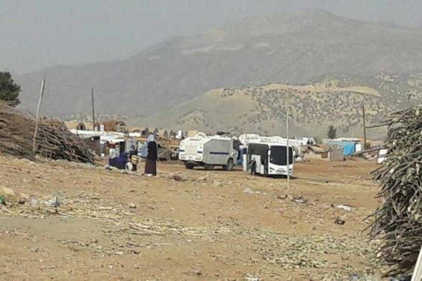 Şırnaklı aileler zorla çadırlarından çıkarılıyor