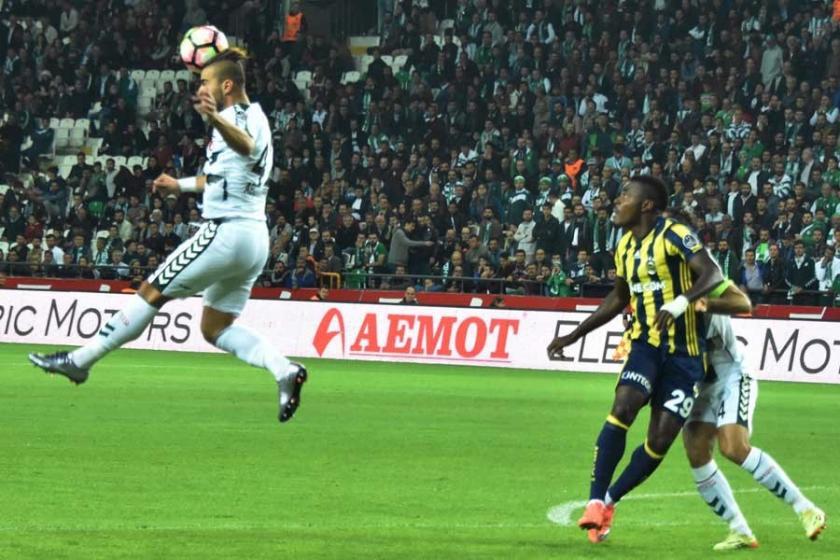 Fenerbahçe deplasmanda Atiker Konyaspor'u 1-0 mağlup etti