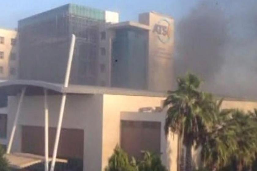 Antalya Ticaret Odası binasında patlama: Yaralılar var