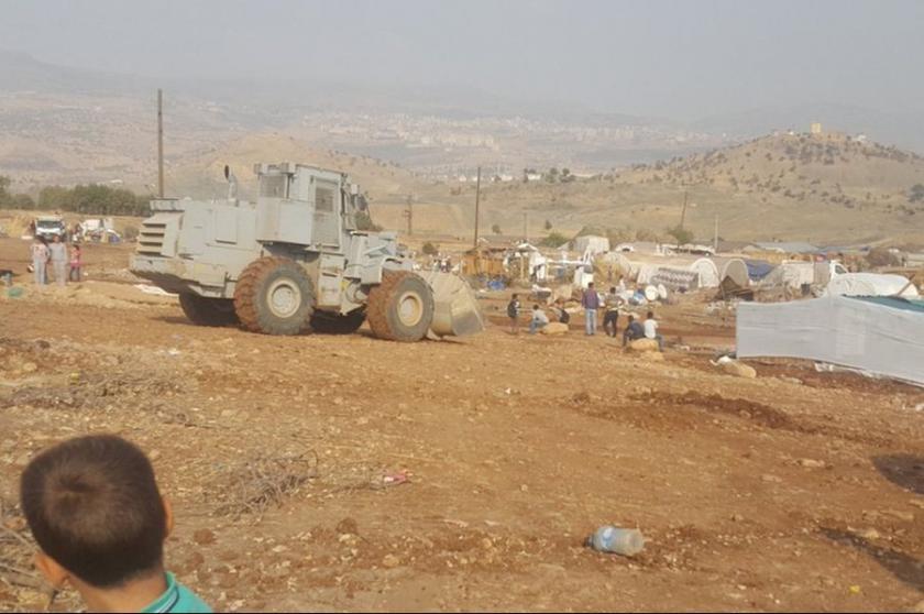 Çadırları yıkılan ailelere: 'Batıya gidin, yardımcı oluruz'