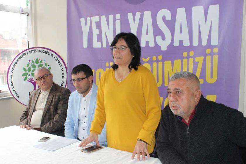 HDP'nin kapalı alandaki açıklamasına polis kuşatması