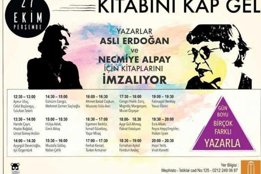 Yazalar Erdoğan ve Alpay'ın kitaplarını imzalayacak
