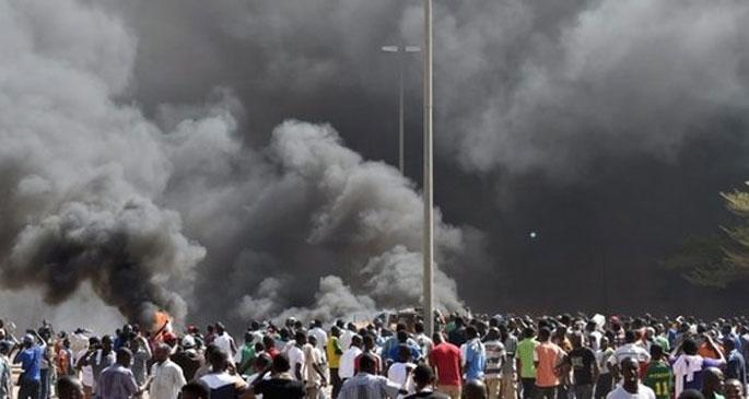 Burkina Faso'da hükümet geri adım attı