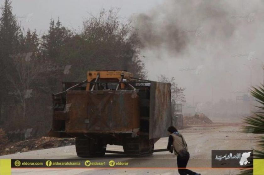 Halep'te cihatçılardan operasyon ilanı