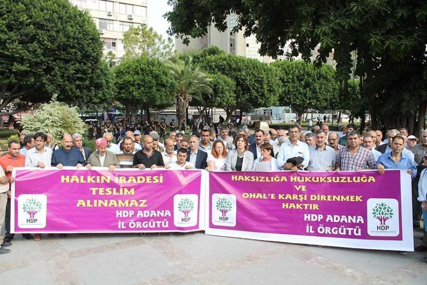Adana'da bir kez daha birlikte mücadele çağrısı yapıldı