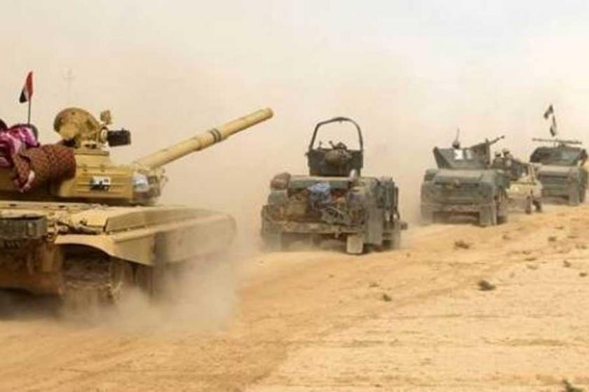 Iraklı güçlerin Musul'a ilerleyişi sürüyor