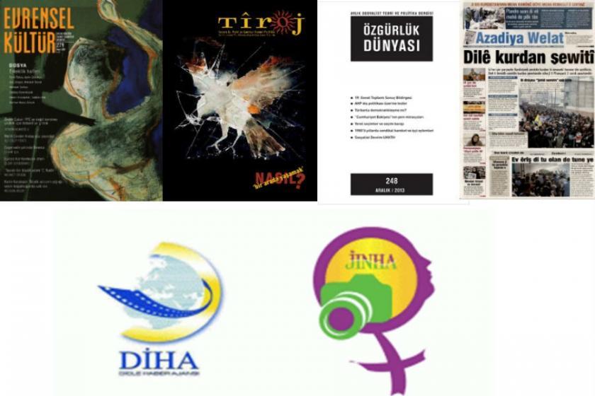 Yeni KHK ile 10 gazete, 2 ajans ve 3 dergi kapatıldı