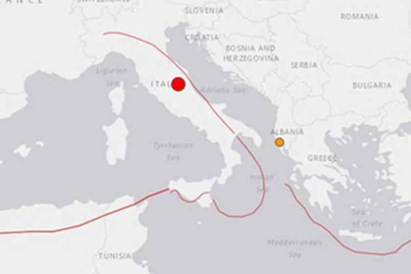 İtalya'daki depremde can kaybı yaşanmadı