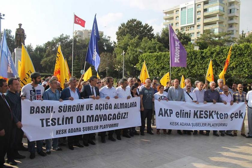 Adana'dan ihraçlara tepki