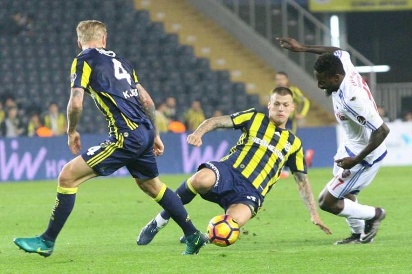 Fenerbahçe Kardemir Karabükspor'u 5 - 0 mağlup etti