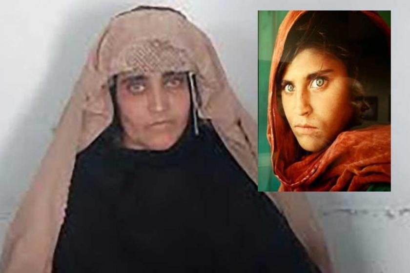 'Afgan kızı' olarak bilinen Sharbat Gula serbest bırakıldı