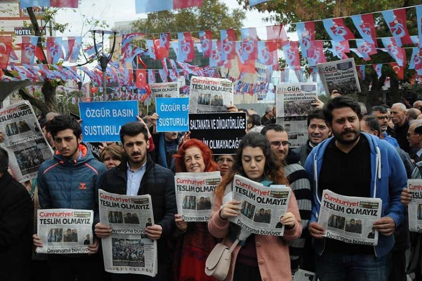 Cumhuriyet'e dönük saldırı Trabzon'da protesto edildi