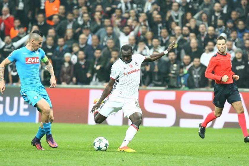 Beşiktaş, Şampiyonlar Liginde Napoli ile 1-1 berabere kaldı