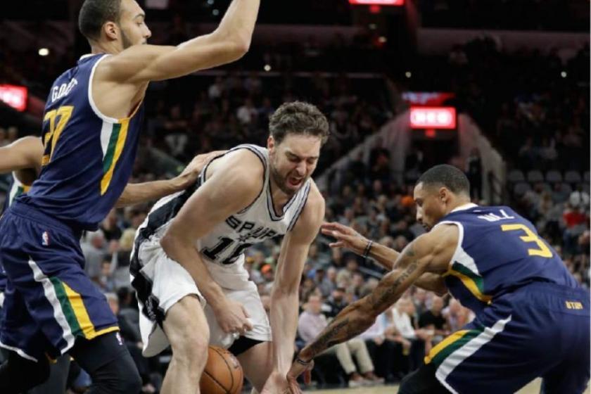 Spurs'u Jazz durdurdu