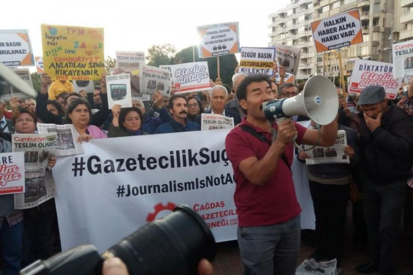 Antalya'da OHAL'in en kitlesel eylemi