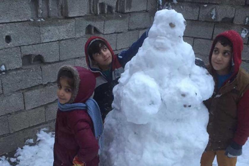 Diyadin'de okullara kar tatili