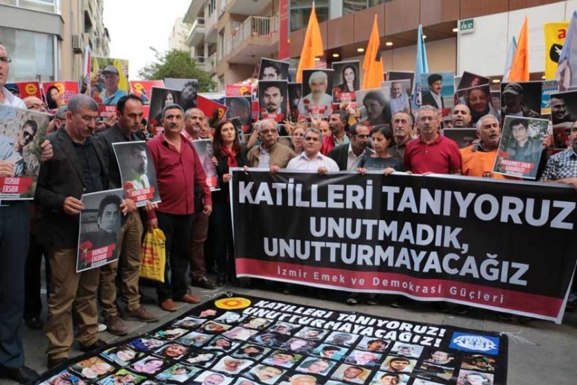 İzmir'de 10 Ekim protestosuna 301'den soruşturma açıldı