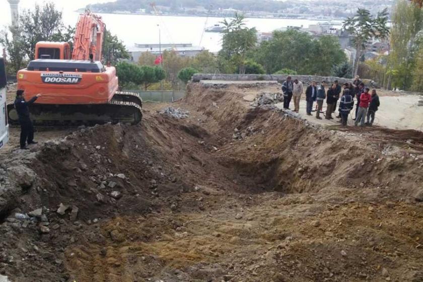 Beyoğlu Belediyesi: İnşaatın arkeolojik alanla ilgisi yok