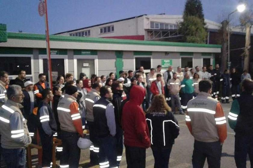 Çiğli Schneider işçileri: EMİS'i de MESS gibi parçalayacağız