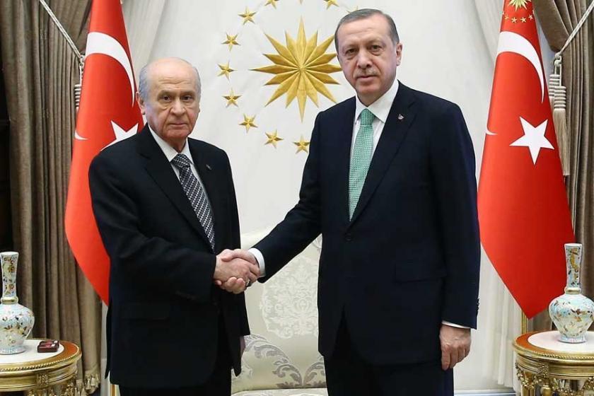 AKP'nin MHP'ye sunduğu anayasa teklifi
