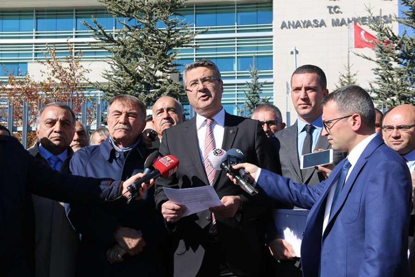 Ankara Barosu'ndan AYM'ye KHK başvurusu