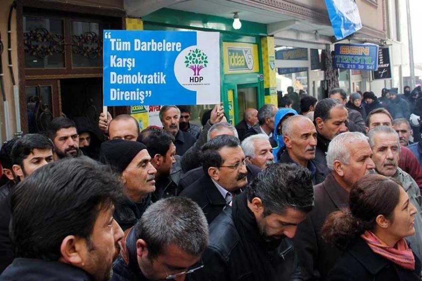 Ağrı'da operasyon protestosu