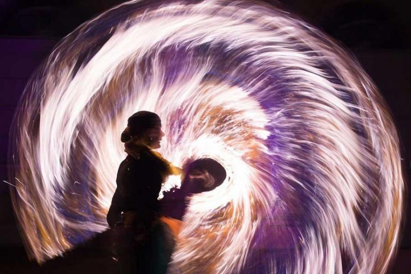 Hindistan'da ışık festivali