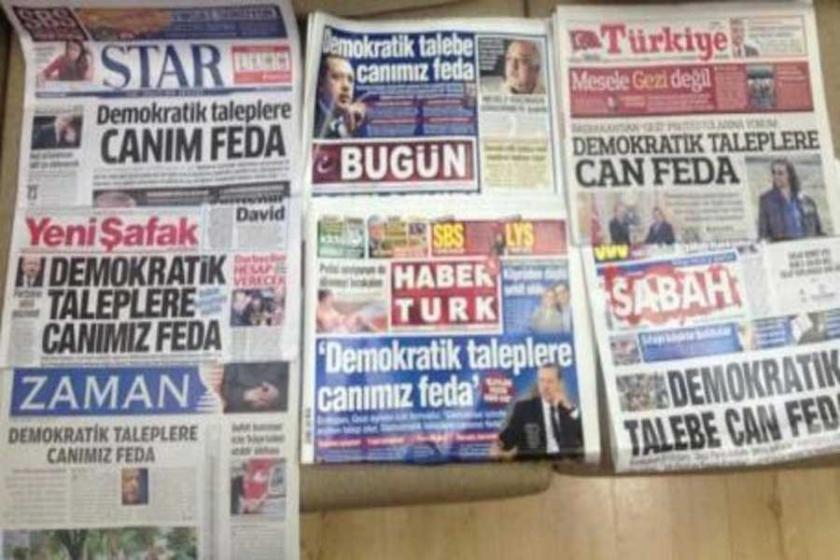 Cumhuriyet iddianamesinden: Zaman'la aynı manşeti atmak...
