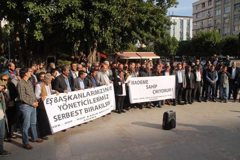 Adana'daki HDP operasyonuna tepki