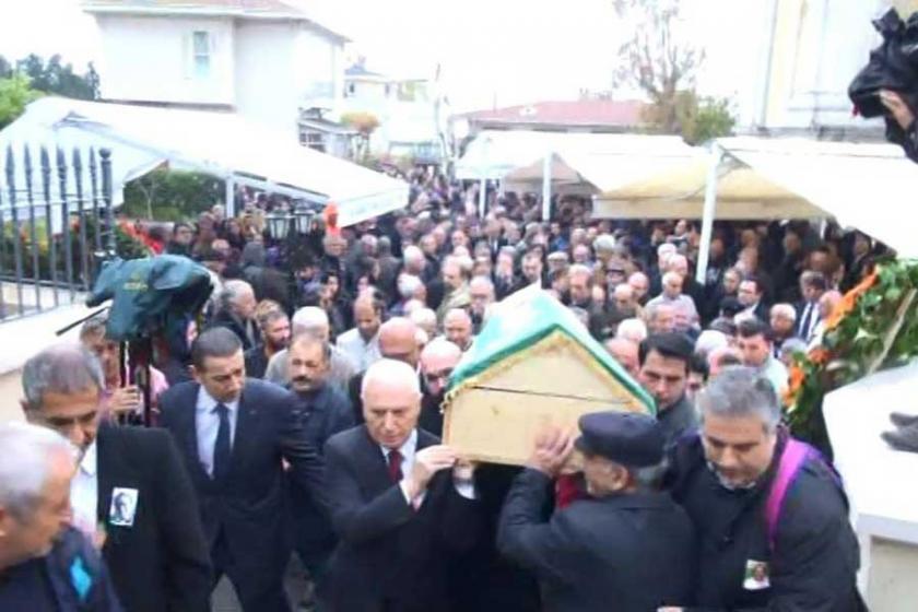 Usta gazeteci Mete Akyol toprağa verildi
