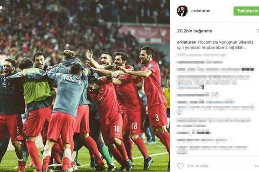 Arda Turan milli takıma yeniden çağrıldı