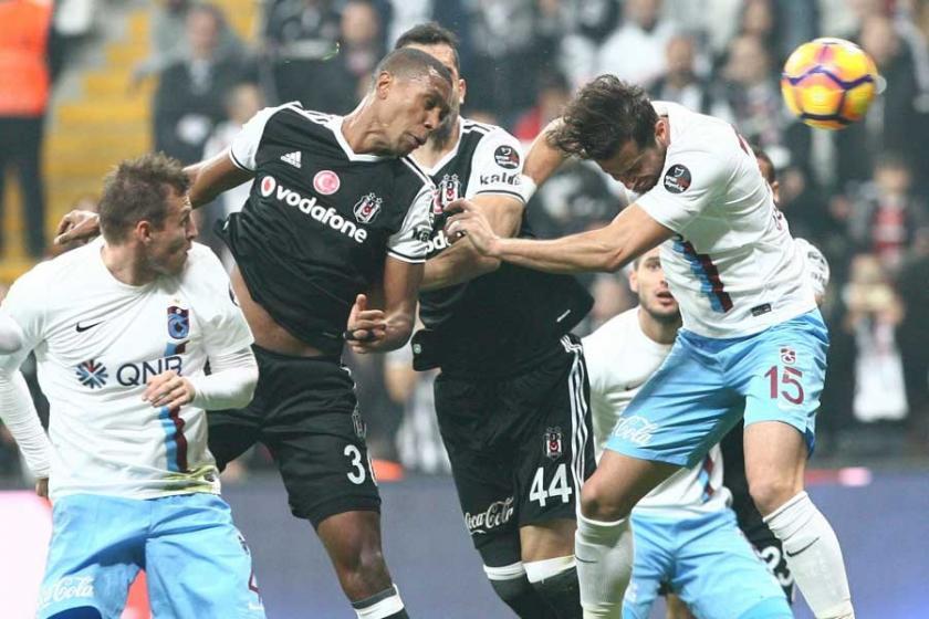 Beşiktaş, Trabzonspor'u 2-1 yendi