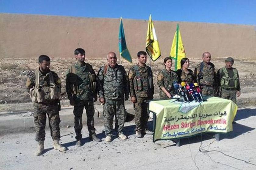 Suriye Demokratik Güçleri Rakka'ya operasyon başlattı