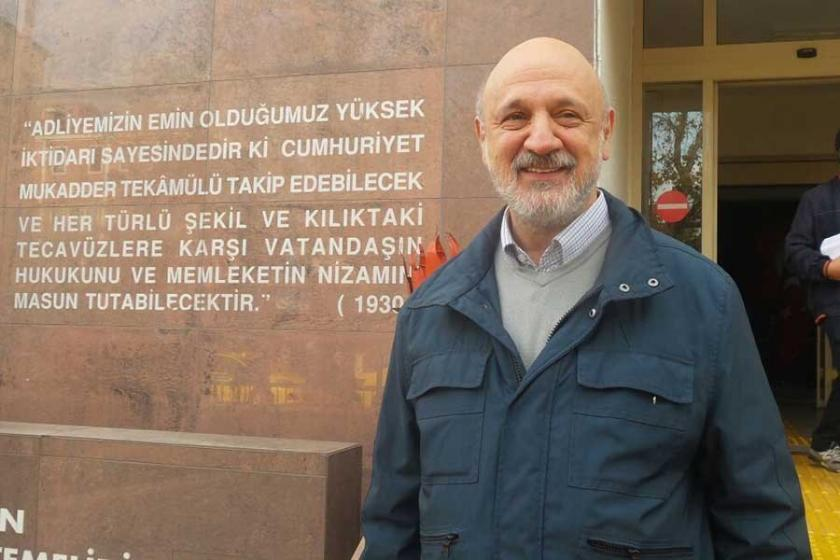 Gazeteci Ragıp Duran Çanakkale'de ifade verdi