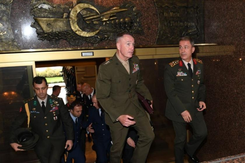 ABD askeri, Genelkurmay'da göreve başlıyor