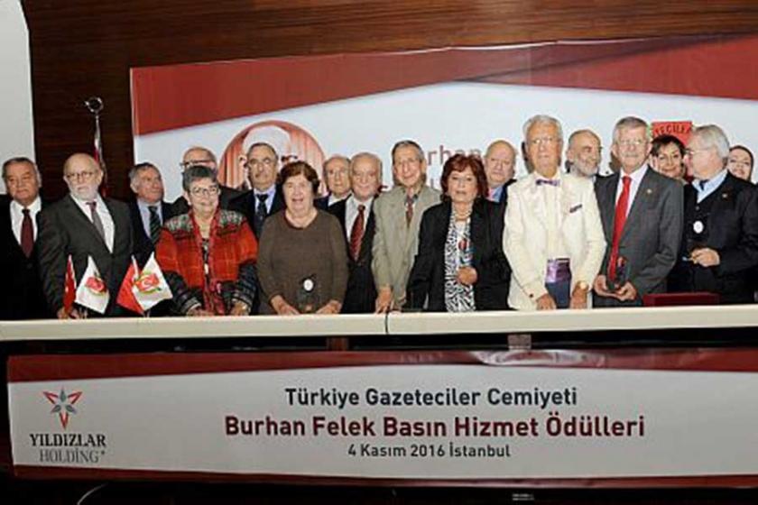 Burhan Felek Basın Hizmet Ödülleri sahiplerini buldu