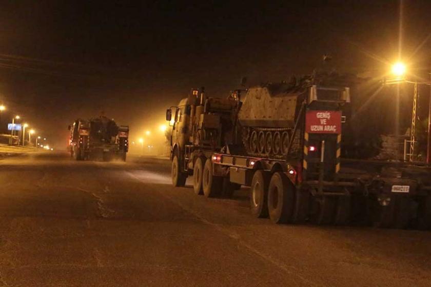 Silopi'ye askeri sevkiyat sürüyor