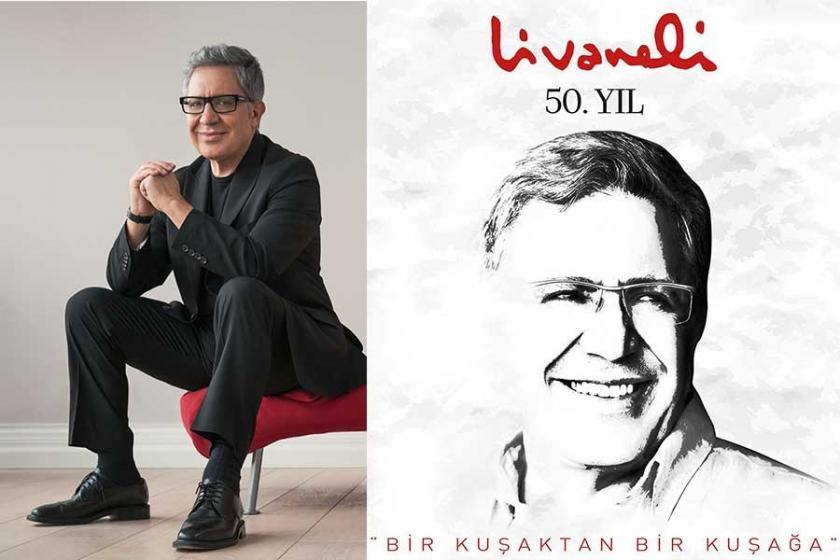 Zülfü Livaneli sanatta 50. yılını kutluyor