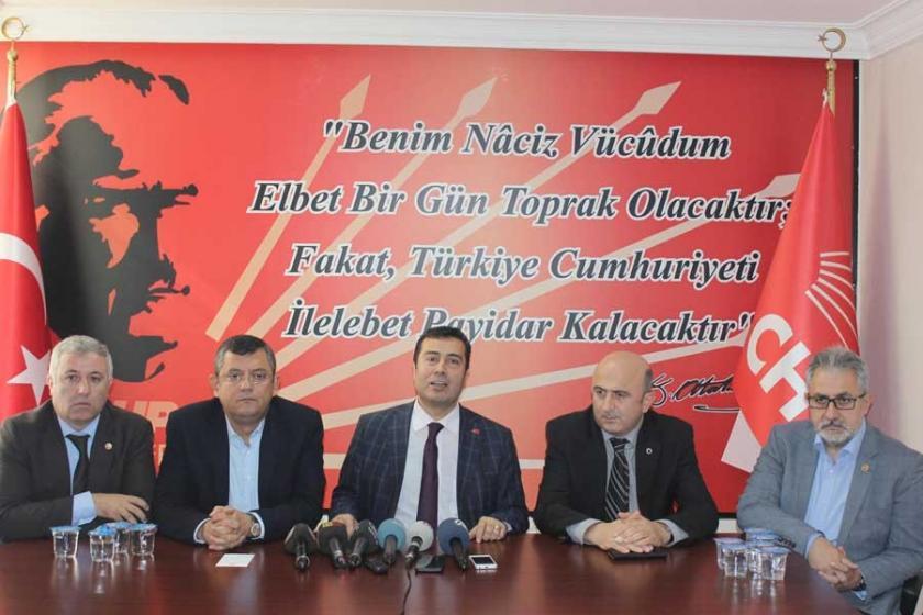 CHP'li Özel: Alınlarını karışlarız